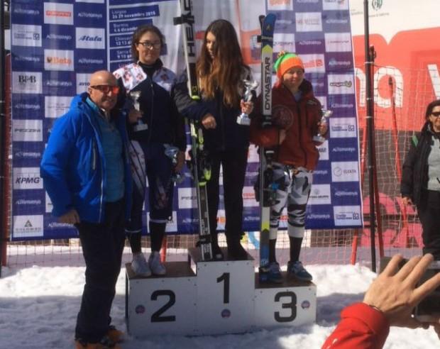 Terzo posto assoluto per Martina Nobis